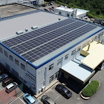 small business rooftop solar panels